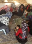 Palestinian women participate in planning workshop