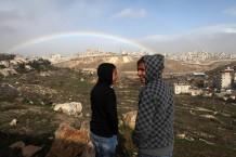 "Plan of a new ""national park"",  Al'Isawiya, East Jerusalem, 11.01.2012"