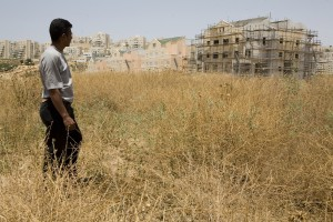 The settlement of Modiin Elit encroaches into Bilin land